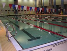 Baruch's ARC Facilities Natatorium (Pool)