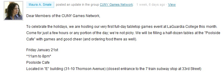 CUNY Games Network