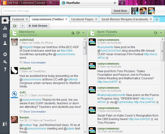 hootsuite screenshot